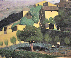Felix Valloton, Paesaggio a Cagnes (Monica Arellano-Ongpin) Tags: painting artwork view vista oilpainting