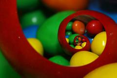 Droste M&M (saish746) Tags: portrait self colorful pixel format effect candies regression infinite binder droste spiraling buttonshaped