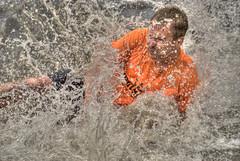 Splash! 2 (stevefge) Tags: people water netherlands sport nijmegen fun nederland splash nederlandvandaag