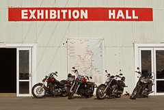 exhibition (Burnt Out Chevrolet) Tags: show park door new winter red white black classic bike wheel wall bar club turn vintage concrete four 50mm bay hall cool map seat sony 14 4 july tire evolution exhibition retro line harley trail zealand stop cycle nz motorcycle parked motor hastings alpha a200 davidson saddle tyre 2014 showground hawkes 2010s turnedhandle