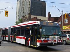 Toronto Transit Commission 9016 (YT | transport photography) Tags: toronto bus nova ttc transit commission artic articulated lfs