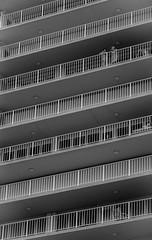 At the balcony (Pedro1742) Tags: ladies bw chat balcony