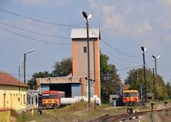 MAV Depot Ballassagyarmat (eddespan (Edwin)) Tags: mav hongarije hungary ungarn trein spoorwegen train zug depot railbus dieseltrein