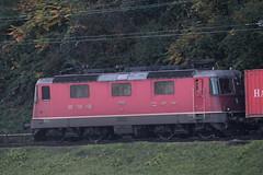 SBB Lokomotive Re 4/4 II 11168 ( Hersteller SLM Nr. 4730 - BBC MFO SAAS - Baujahr 1969 ) am Auhafen Muttenz im Kanton Basel Landschaft der Schweiz (chrchr_75) Tags: albumzzz201610oktober christoph hurni chriguhurni chrchr75 chriguhurnibluemailch oktober 2016 hurni161018 bahn eisenbahn schweizer bahnen zug train treno albumbahnenderschweiz2016712 albumbahnenderschweiz schweiz suisse switzerland svizzera suissa swiss albumsbbre44iiiii lok lokomotive sbb cff ffs schweizerische bundesbahn bundesbahnen re44 re 44 albumhafenauhafenmuttenz hafen auhafen muttenz schweizerischen schweizerischer rheinhfen birsfelder hafenanlagen kanton basel landschaft kantonbasellandschaft