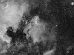 Pelikan-Nebel (astroaxel) Tags: spanien andalusien canillas finca caliente gasnebel nebel dunkelwolke milchstrase pelikan ic 5070 ngc 7000