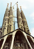 La Sagrada Familia Entrance (Infinity & Beyond Photography: Kev Cook) Tags: la sagrada familia acthedral church basilica temple spires covered entrance entryway gaudi barcelona spain
