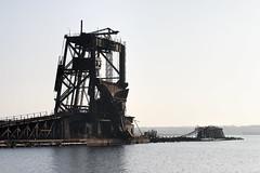Dumpy (95wombat) Tags: abandoned decayed derelict rusty industrial railroad coal dumper carteret newjersey arthurkill