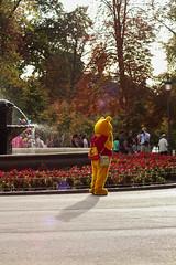 Retiro (schwarzekatzen) Tags: madrid retiro winnie pooh autumn fountain