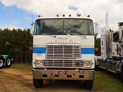 photo by secret squirrel (secret squirrel6) Tags: secretsquirrel6truckphotos craigjohnsontruckphotos international cabover americian coe tooradin truckshow big detroit diesel power photo flickr
