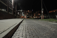 stoale_p2_s1 (samanthatoalephotography) Tags: gray sidewalk outdoor road lens flare downtown columbus ohio brick
