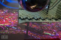 gbw colour storm (genelabo) Tags: glocke munich glockenbachwerkstatt gbw interactive light sculpture mayerempl genelabo mapping installation video visualist colourful indoor stairs treppen foyer münchen bw sw black white monochrome stripes waschanlage discokugel mirrorball sony