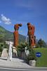 Roundabout, Austria (Andrew-M-Whitman) Tags: roundabout statue peeing pee austria