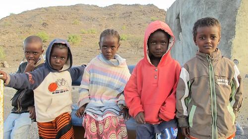 Djibouti 2013 - Enfants d'Adoïla