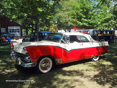 1955 Ford Fairlane Sunliner Convertible (JCarnutz) Tags: 1955 ford fairlane sunliner redbarns spectacular gilmorecarmuseum