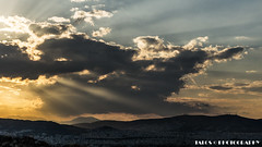 Puesta de sol en Atenas (TALOS300) Tags: sonya6000 sonyilce6000 sonyalpha6000 atenas athens grecia greece puestadesol landscape sunset