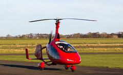 G-CIXX Cavalon, Scone (wwshack) Tags: cavalon egpt gyro gyrocopter orion psl perth perthairport perthshire scone sconeairport scotland gcixx
