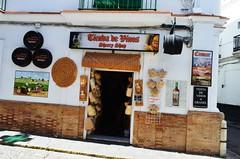 SANLCAR DE BARRAMEDA_(CDIZ) (5) (DAGM4) Tags: sanlcardebarrameda provinciadecadiz cdiz andaluca andalusia andalusie espaa europa espagne europe espanha espagna espainia espana espanya spain 2016 pueblo sanlcardebarrameda manzanilla vino wines bodega bodeguita tienda shop