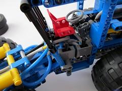 09e (nikolyakov) Tags: lego legotechnic eurobricks pneumatic logging skidder moc tc10