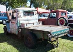 1947 Willys 4X4 (bballchico) Tags: 1947 willys 4x4 truck flatbed jerrydemartile billetproof billetproofantioch carshow 40s