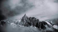 The Dru (Charlotte Brasseau) Tags: nikon photography d7100 black white mountain chamonix photo photooftheday savoie france gallery photographie cosmojazz landscapes landscape