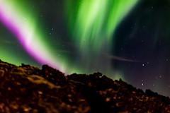 Arora Borealis in Iceland (R V S Photography) Tags: snow longexposure red green borealis aurora auroraborealis iceland