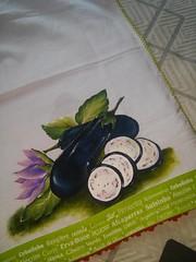 14729247_1570344992977984_4002608105140237342_n (jovanapinturas) Tags: pinturasjovana pinturas em tecido artesanato artes artes decorativas casa decorao tecidos toalhas decoradas fraldas panos decorados pintura pano