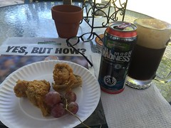 A Sunday snack and Full Moon Madness (st_asaph) Tags: beer porter ale
