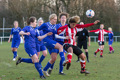 Altrincham LFC vs Stockport County LFC - December 2016-156 (MichaelRipleyPhotography) Tags: altrincham altrinchamfc altrinchamlfc altrinchamladies alty amateur ball community fans football footy header kick ladies ladiesfootball league merseyvalley nwrl nwrldivsion1south nonleague pass pitch referee robins shoot shot soccer stockportcountylfc stockportcountyladies supporters tackle team womensfootball