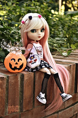 Trick or treat? (Sia ♥) Tags: pullip junplanning stica halloween