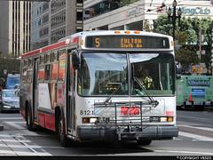 San Francisco Municipal Railway #8121 (vb5215's Transportation Gallery) Tags: muni san francisco municipal railway 2000 neoplan an440a