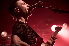 Teleman live at Wedgewood Rooms, Portsmouth 2016 (_modernway_) Tags: red teleman band gig musician performance light stage portsmouth hampshire southsea uk wedgewoodrooms