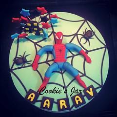 spiderman 2 (virsingh77) Tags: cookiesjar cake boys kids spiderman cartoon