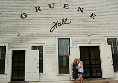 Mother and Daughter and Gruene Hall (makennaperkal) Tags: gruene hall texas music mother daughter hopeful
