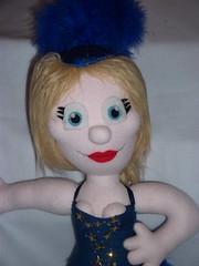 Kylie Minogue (AngelaTiara) Tags: kylie kylieminogue showgirl show girl bloom ploom leotard glitter glittery sparkly twinkly sequins australia homeandaway aussie singer sexy boobs shapely royal blue feathers stilettoslasvegas musical angelatiara ooak art doll glasgow handmade custom toy neighbours charlene