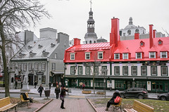 Historic Center (caribb) Tags: canada quebec quebeccity vieuxqubec oldquebec historic canadianhistory buildings heritage urban city 2016 downtown centreville street streets centrum