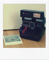 Polaroid Supercolor 645 (*Kicki*) Tags: polaroid supercolor fotosondag camera sweden supercolor645 fs161113 analog stilllife retro frame