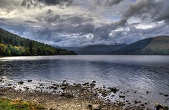 Clouds close in on Loch Earn, Scotland (Baz Richardson (catching up again!)) Tags: scotland centralhighlands lochearn lakes lochs clouds