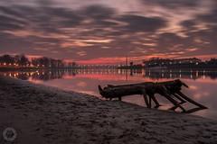 A morning in Osijek (ristic.vedran42) Tags: osijek croatia sunrise morning nikon d3200 nikond3200 samyang samyang16mm20long exposure drava river