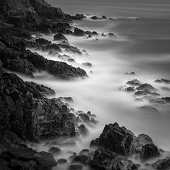 Stones II (Jaques10000) Tags: nikon d750 brittany finistre seascape stones monochrome blackwhite longexposure ndfilter haida