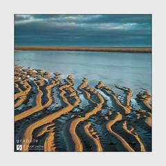 Grapple - The Sketches # 21 (Stuart Leche) Tags: chapelstleonards clouds ripples sand sea seascape sky