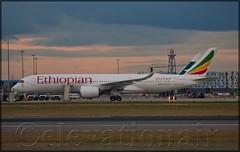 ET-ATR Airbus A350-941 Ethiopian Airlines (elevationair ✈) Tags: airlines airliners avgeek aviation airplane plane aircraft arrival departure london heathrow londonheathrow lhr egll airport ethiopian ethiopianairlines balemountains a359 airbusa350941 etatr