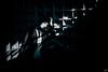 Léa Train 296-2b copie (Fr-EM (photos de Modèles)) Tags: photographe37 photographetours 550d canon eos femme woman frem modèle model photo picture fille girl sexy sensualité sensuality sensuelle sensual photoshop brune studio jambe leg urbex rail railway train gare station extérieur badgirl noiretblanc blackandwhite