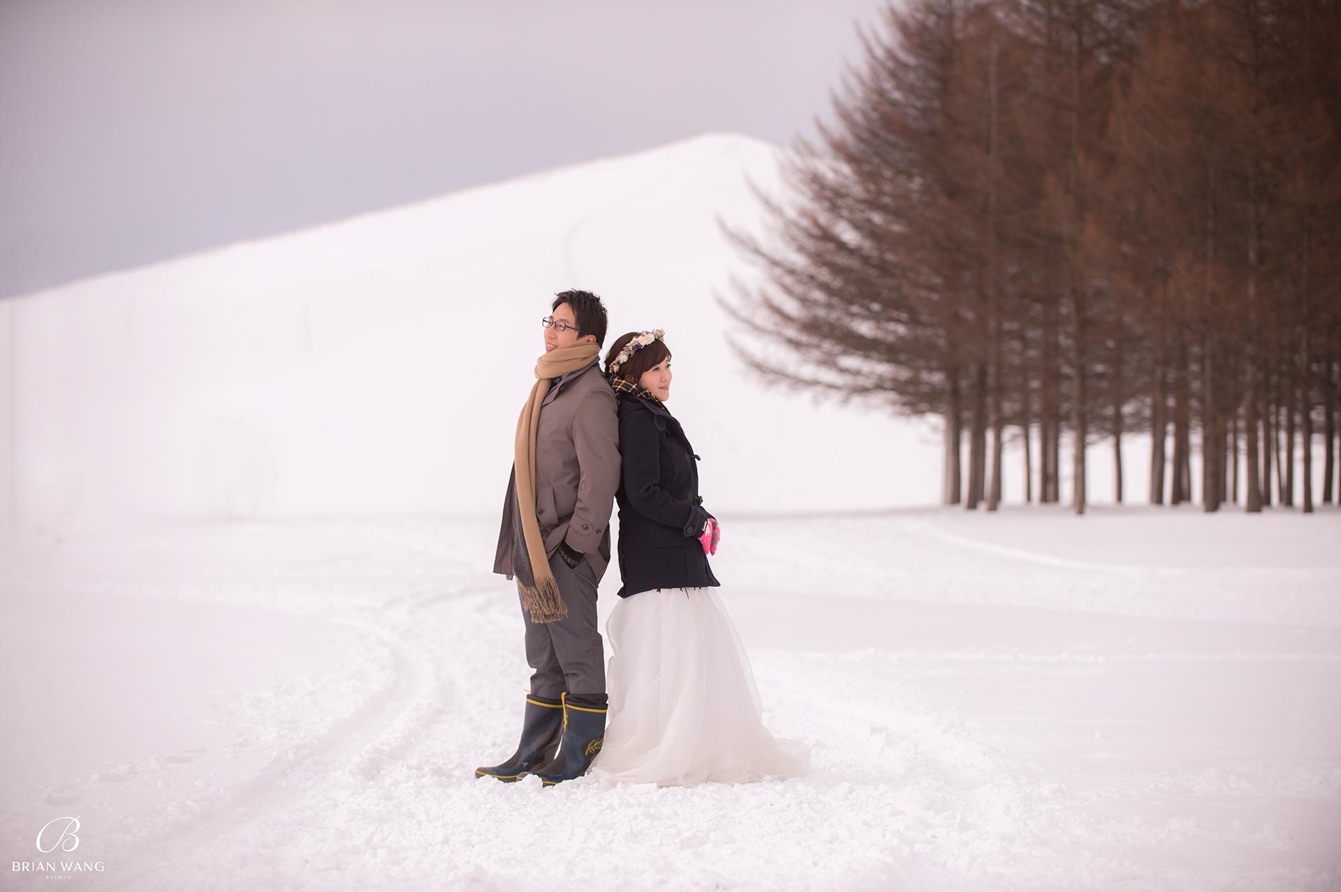 '北海道自助婚紗,北海道婚紗攝影,北海道雪景婚紗,海外婚紗價格,雪景婚紗,拍和服,北海道海外婚紗費用,伏見稻荷,札幌,1920BWS_7252'