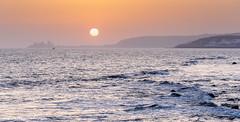 Costa Meloneras (Gran Canaria, Spain) (Ignacio Ferre) Tags: españa spain canaryislands islascanarias grancanaria atardecer sunset sea mar paisaje landscape sol sun sanbartolomédetirajana costameloneras nikon maspalomas
