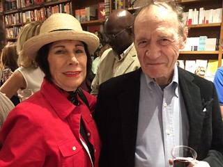 Erika King with Anthony Hayden -Guest at Books&Books. .