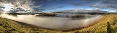 Coquet Valley Cloud Inversion (ca2cal) Tags: england northumberland barrowburn cheviot national park northumberlandnationalpark rural hill sky sun skyscape cloud inversion cloudinversion winter landscape valley kyloe shin kyloeshin coquet coquetvalley hdr website project366 shadow