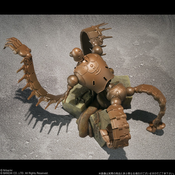 BANDAI全新系列「想造畫廊」:天空之城 機械兵