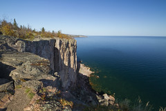 Palisade Head near Tettegouche State Park
