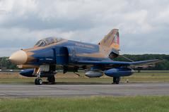 37+01 (GerardvdSchaaf) Tags: last germany airplane aircraft military jet special phantom douglas jetfighter volkel luftwaffe mcdonnel klu f4f 3701 kluopendagen