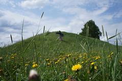 Sense of freedom (Larisa Deac) Tags: summer people lake flower colour green nature grass forest finland rocks warm turku her natureandpeopleinnature